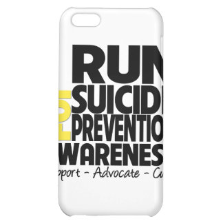 I Run For Suicide Prevention Awareness Cover For iPhone 5C