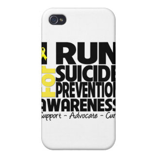 I Run For Suicide Prevention Awareness iPhone 4/4S Cases