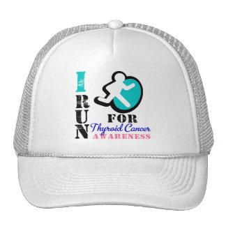 I Run For Thyroid Cancer Awareness Trucker Hat