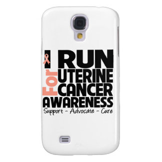 I Run For Uterine Cancer Awareness Samsung Galaxy S4 Cases