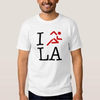 I Run L.A. T Shirts