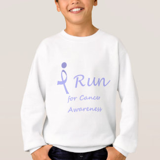 I Run - Lavender Ribbon General Cancer Sweatshirt