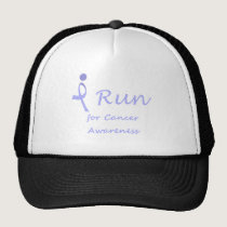 I Run - Lavender Ribbon General Cancer Trucker Hat