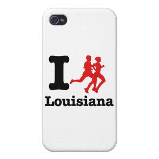 I run Louisiana iPhone 4 Case