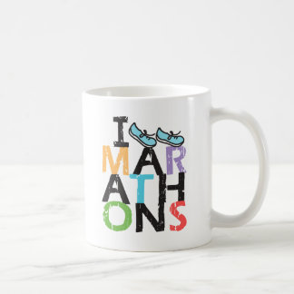 I run Marathons! Coffee Mug