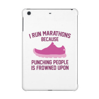 I Run Marathons iPad Mini Retina Case