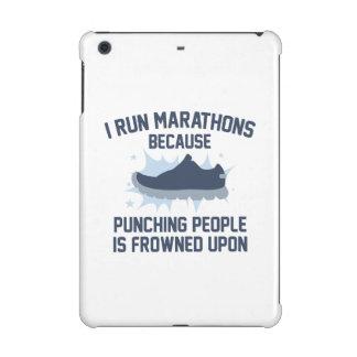 I Run Marathons iPad Mini Retina Covers