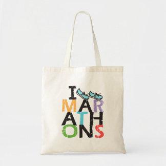 I run Marathons! Tote Bag