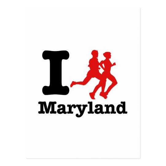 I run Maryland Postcard