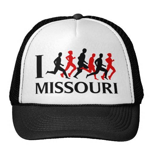 I RUN MISSOURI TRUCKER HAT