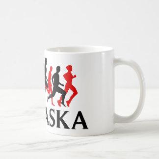 I RUN NEBRASKA COFFEE MUG