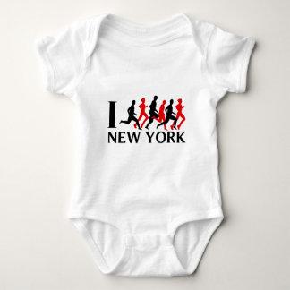 I RUN NEW YORK BABY BODYSUIT