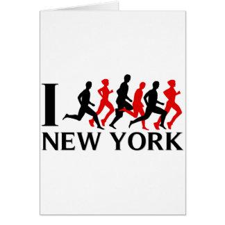 I RUN NEW YORK CARD