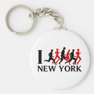 I RUN NEW YORK KEYCHAIN