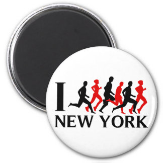 I RUN NEW YORK MAGNET