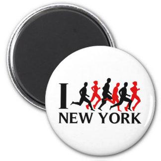 I RUN NEW YORK MAGNET