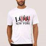 I RUN NEW YORK TEE SHIRTS