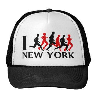 I RUN NEW YORK TRUCKER HAT