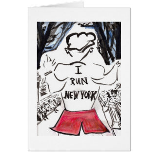 I run New Yorka Greeting Card