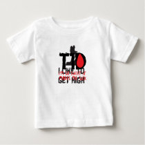 I Run on Coffee & Insulin Diabetes Awareness Baby T-Shirt