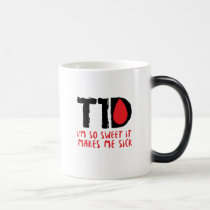 I Run on Coffee & Insulin Diabetes Awareness Magic Mug