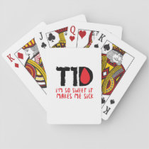 I Run on Coffee & Insulin Diabetes Awareness Playing Cards