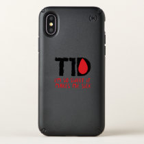 I Run on Coffee & Insulin Diabetes Awareness Speck iPhone X Case