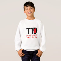 I Run on Coffee & Insulin Diabetes Awareness Sweatshirt