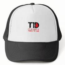I Run on Coffee & Insulin Diabetes Awareness Trucker Hat