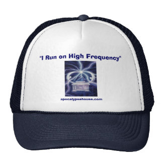 """""""I Run on High Frequency"""" Mesh Hat"""