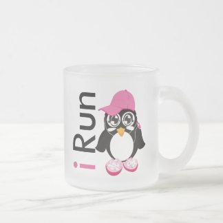 i Run Penguin Coffee Mug