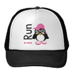 i Run Penguin Trucker Hat