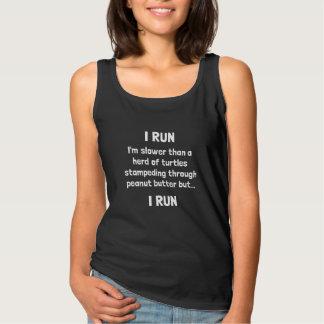 I Run Tank Top