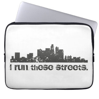 I Run These Streets (Los Angeles) Computer Sleeve