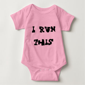 I run this baby bodysuit