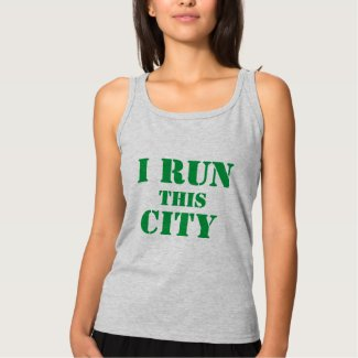 I RUN THIS CITY TANK TOP
