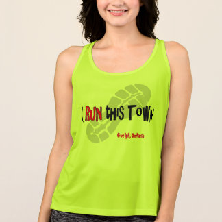 I Run This Town - All Sport Tank