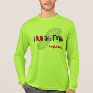 I Run this Town - Custom Sport-Tek LS T-Shirt
