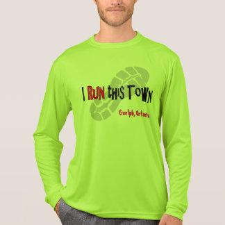 I Run this Town - Custom Sport-Tek LS T-Shirt