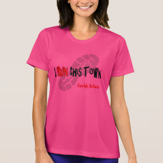 I Run this Town - Custom Sport-Tek SS T-Shirt