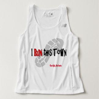 I Run This Town - New Balance Tank Top