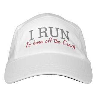 I Run to Burn off the Crazy Funny Running Runners Hat