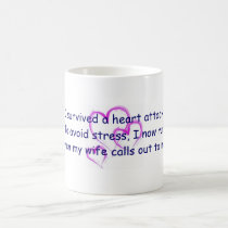I run when my wife calls my name coffee mug