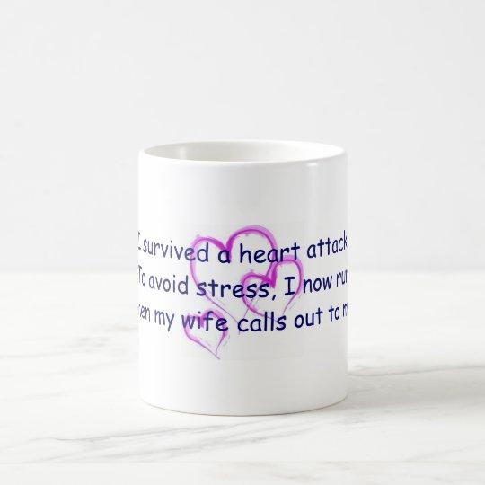 I run when my wife calls my name coffee mug