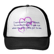 I run when my wife calls my name trucker hat
