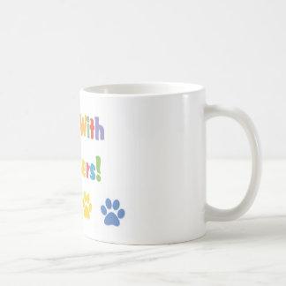 I Run With Lurchers Coffee Mug