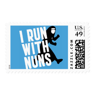 I Run with Nuns Postage