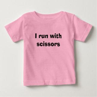 I run with scissors t-shirts
