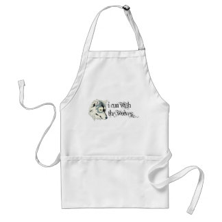 I Run With The Wolves -- Vampires Adult Apron