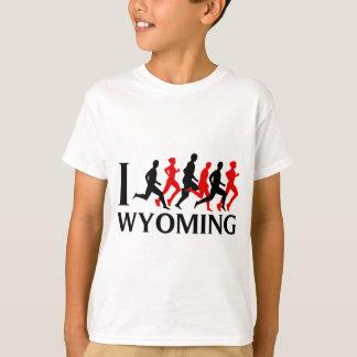 I RUN WYOMING T-Shirt